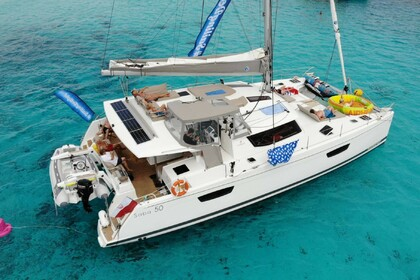 Location Catamaran Fountaine Pajot Saba 50 Mahé