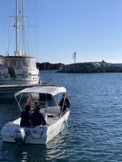 Rental Motorboat Saver Open Fréjus