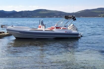 Rental RIB Olympic Speedster 590 Paros