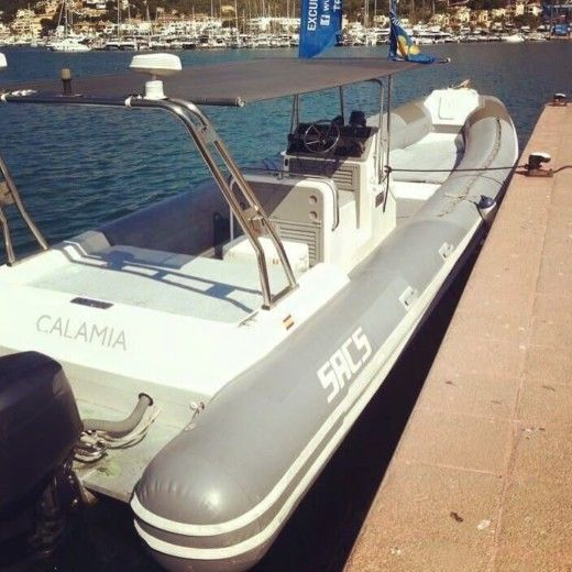 RIB Sacs 33 for hire