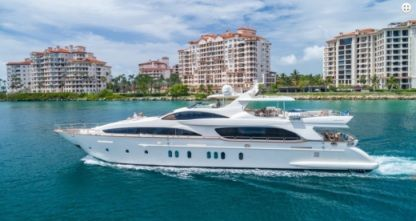 Rental Motorboat Azimut 116 Miami Beach