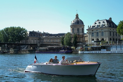 Rental Motorboat Tuescher Kym Sport Paris
