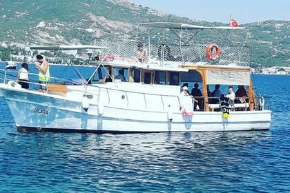 Charter Motorboat Custom Made Dilara 1 Foça
