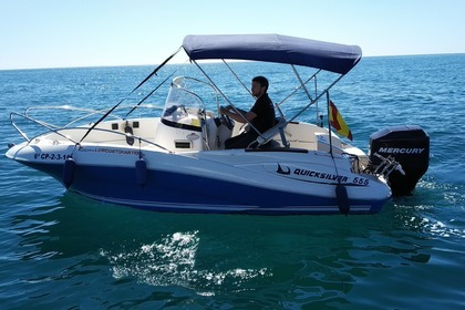 Rental Motorboat QUICKSILVER 555 COMMANDER La Pobla de Farnals