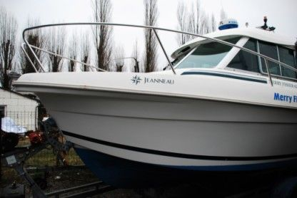 Charter Motorboat Jeanneau Merry Fisher 625 Szczecin