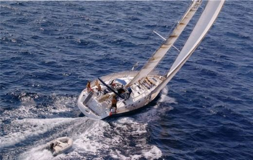 Sailboat Beneteau 50 for hire