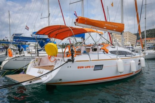 Elan Impression 40 in Croatia for hire