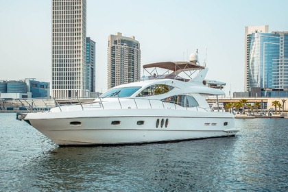 Hire Motor yacht Gulf Craft Majesty 61 Dubai
