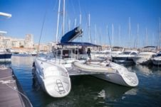 Rental catamaran in Marseille