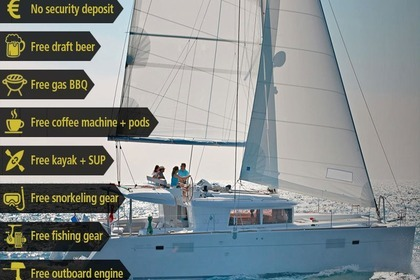 Hire Catamaran LAGOON 450  Flybridge A Porto Pozzo