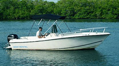 Charter Motorboat Cape Craft 21 Key West