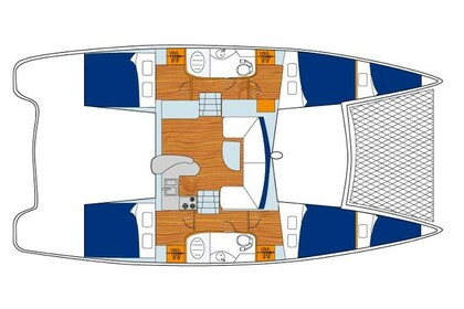 Rental Catamaran Sunsail 404 Road Town
