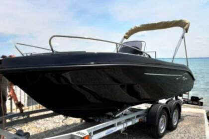 Miete Motorboot As Marine 570 Black senza patente Moniga del Garda