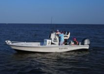 Rental Motorboat Blue Wave 24 Galveston