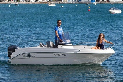 Verhuur Motorboot Pacific Craft Open 500 Saint-Cyprien