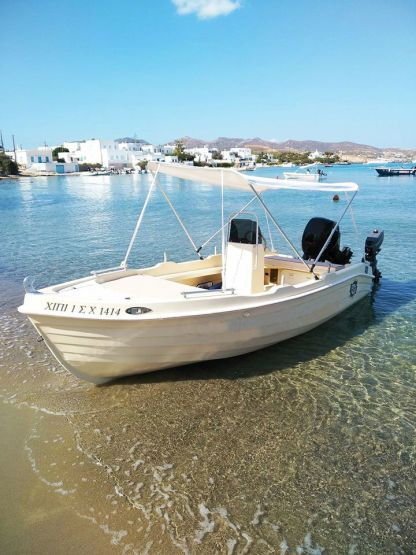 Rental Motorboat Man 4.65 Milos