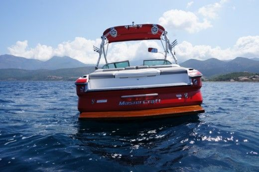 Mastercraft X35 in Saint-Florent for hire
