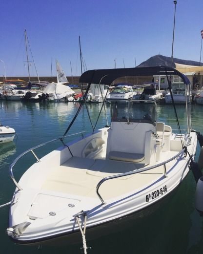 Rental Motorboat Matrix 18.5 Altea