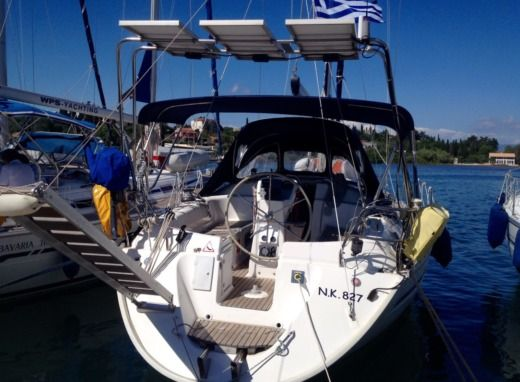 Rental sailboat in Corfu