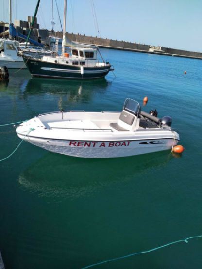 Charter Motorboat Karel 480 Open Heraklion