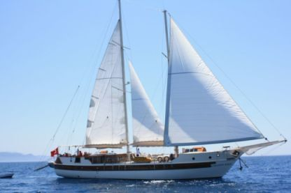 Rental Sailboat Motorsailer Gulet Amazon Solo Göcek