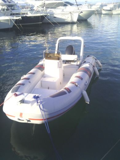 RIB Barracuda Barracuda 470 peer-to-peer