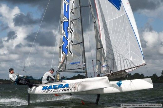 Nacra F20 FCS in Marseille peer-to-peer
