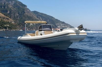 Location Semi-rigide White Almarine Positano