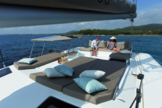 Fountaine Pajot Saba 50 in Seychelles for hire