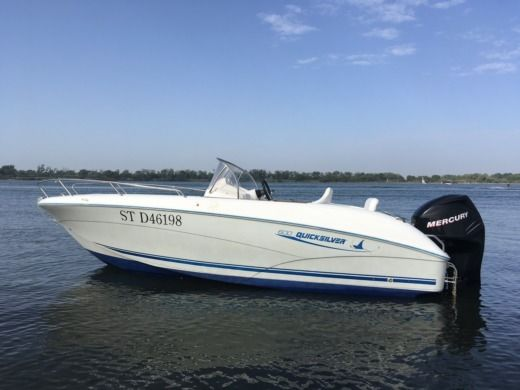 Motorboat Quicksilver Open 6 M for hire