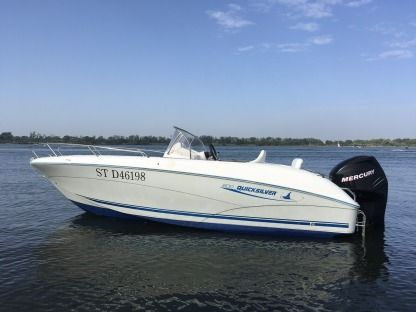 Rental Motorboat Quicksilver Open 6 M Mauguio