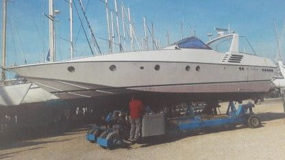 Rental Motorboat Techno Marine 42C Digoin