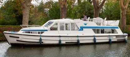 Rental Houseboat Crown Cruisers Continentale Portiragnes