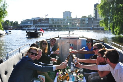 Hire Motorboat Custom Luxesloep Harry Slinger Amsterdam