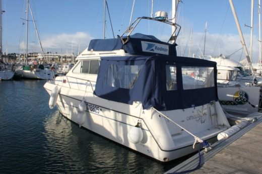 Motorboat RODMAN 900 FLY for hire