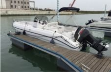 Motorboat Ranieri Gioia for rental