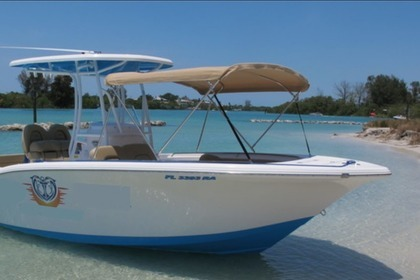 Hire Motorboat TideWater Boat 230 LXF Naples