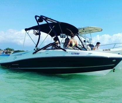 Rental Motorboat Bayliner Vr5 Miami