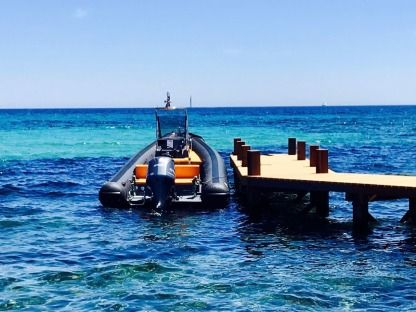 Location Semi-rigide Sea Water Smeralda 250 Porto Rotondo
