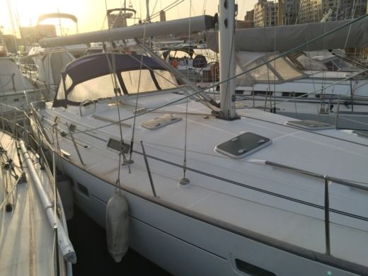 Beneteau 411 in Marseille peer-to-peer