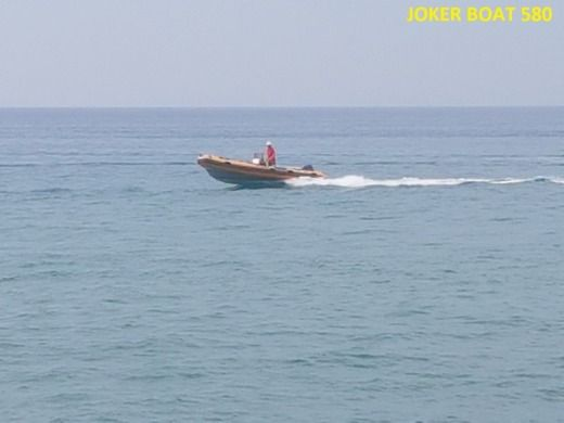 Joker Boat Coaster 580 in Sperlonga for hire