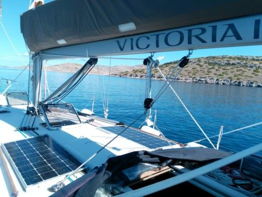 Dufour 44 in Marina for hire