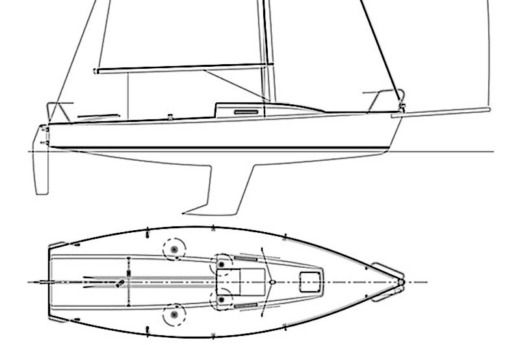 Sailboat J Composites J-80 for hire