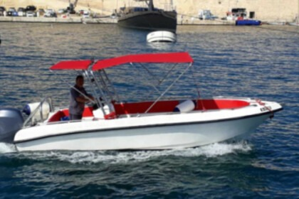 Rental Motorboat 21ft Open Boat Birgu