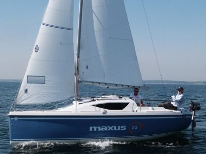 Rental Sailboat  Maxus 22 Standard Wilkasy