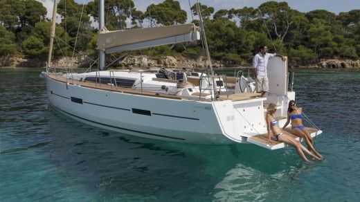 Dufour Grand Large in Port-Camargue for hire