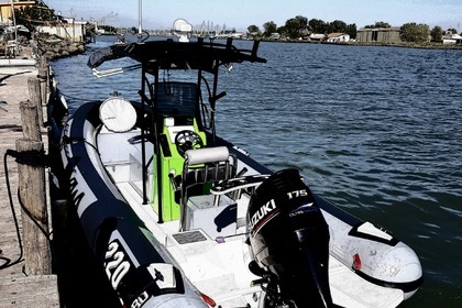 Rental RIB Bwa 220 Super Pro Fishing Ostia