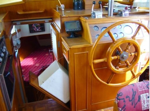 Motorboat Grand Banks 36 Classic for hire