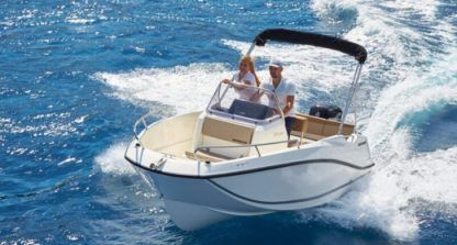 Rental Motorboat Quicksilver Activ 555 Open Mahón
