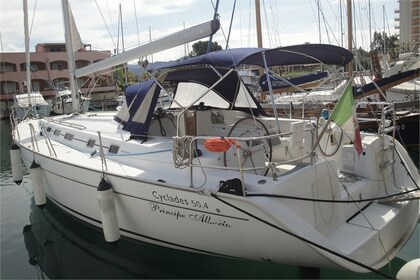 Charter Sailboat BENETEAU CYCLADES 50.4 Furnari